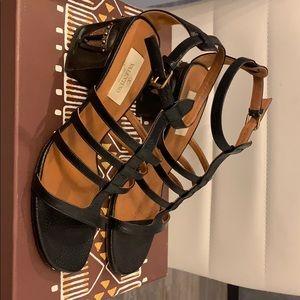 Authentic Valentino black sandals